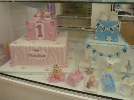 Baby cake cabinet