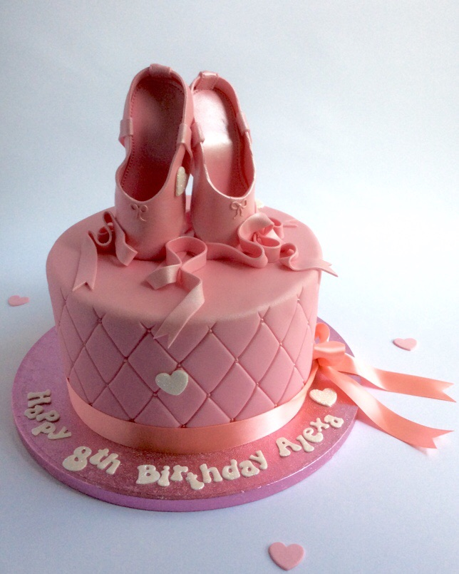 Ballet Shoes Cake Karens Cakes