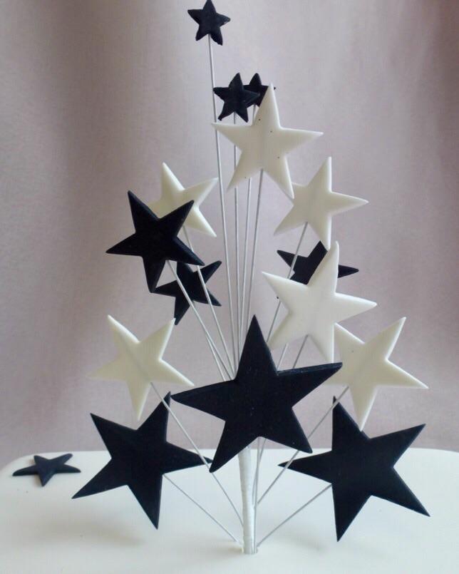Plain Star Spray Topper