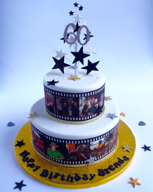 Last Minute Fruit Wedding Cake