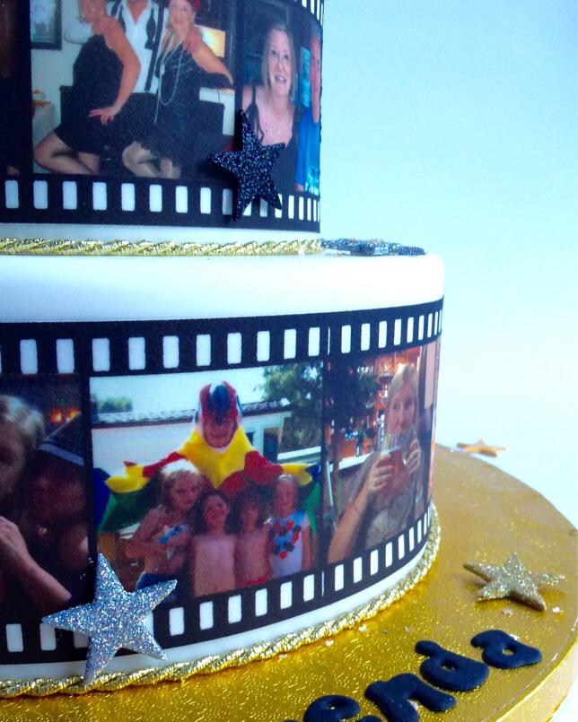 2 Tier Film Strip Karen S Cakes