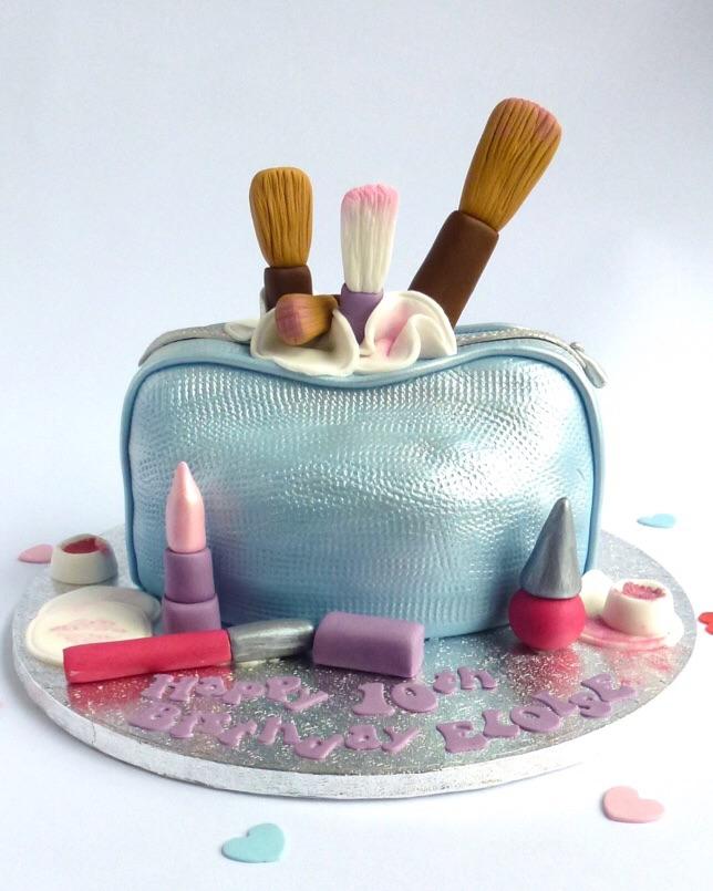 Satin Make Up Bag Karen S Cakes