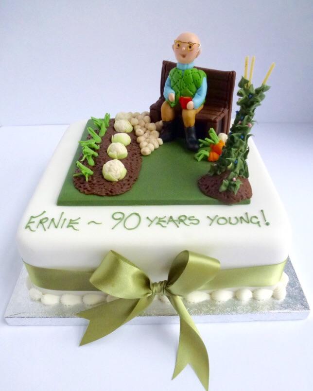 Gardening Cake   Karen\'s Cakes