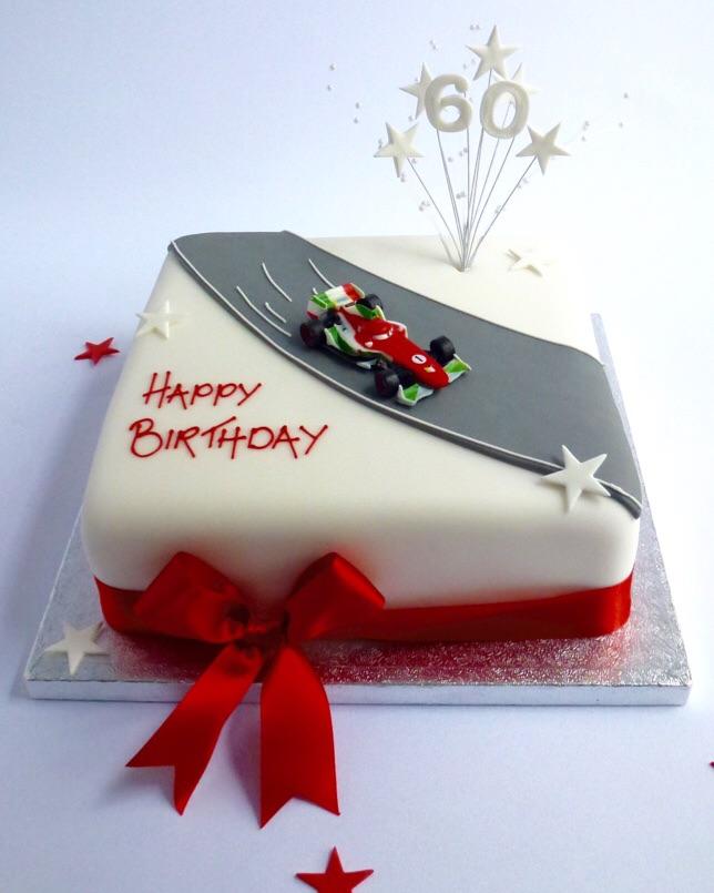 Racing Car Cake  Karens Cakes