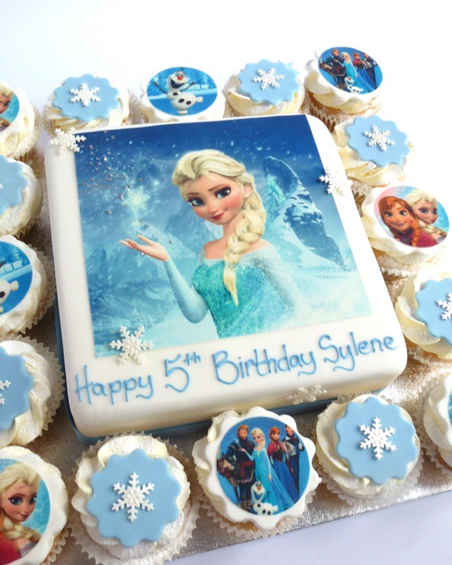 Frozen Sround About Karens Cakes