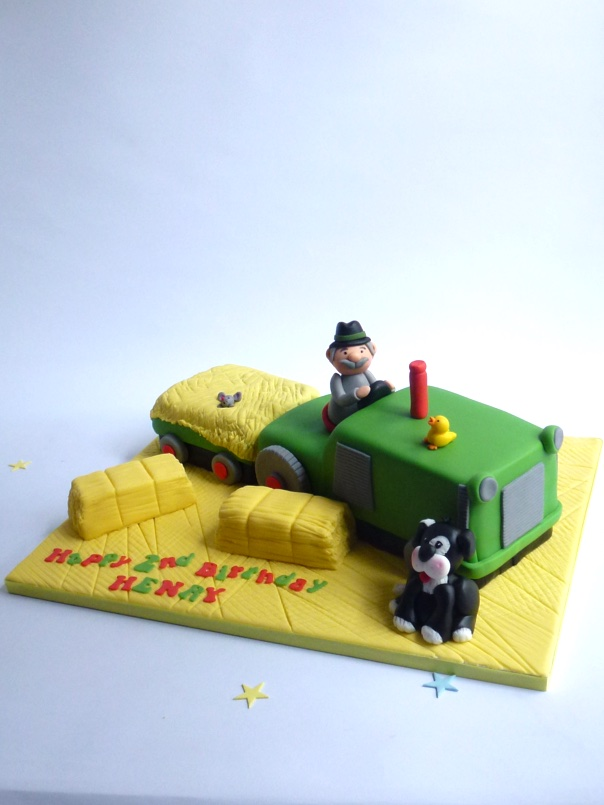 Tractor Cake Karens Cakes