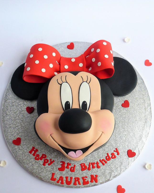 Mini Mouse Cake Karen S Cakes